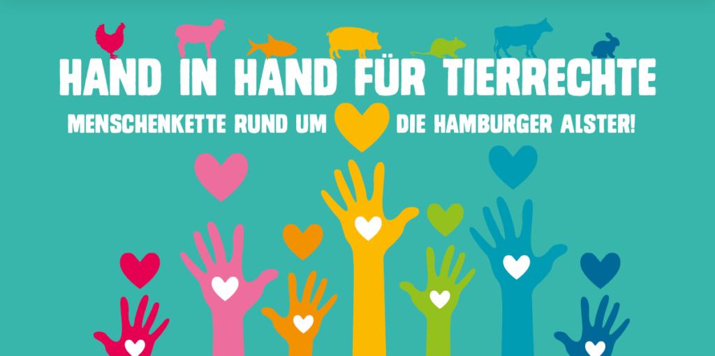 Logo Hand in Hand für Tierrechte 2.0