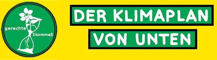 Logo Klimaplan von Unten